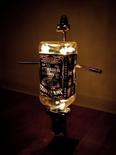 jack daniels lampe f r alle die wissen wollen wie die lam flickr. Black Bedroom Furniture Sets. Home Design Ideas