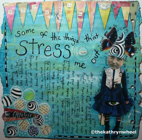 Art Journal - stress | by thekathrynwheel