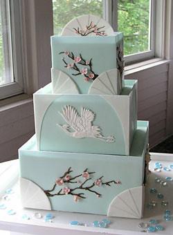Japanese Inspired Wedding Cakes
