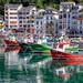 Fishery Harbour – Puerto Pesquero, Luarca Asturias HDR
