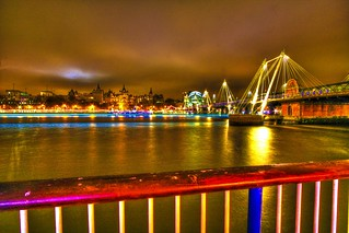 The south bank on fire (London) | by guitarmate