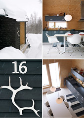 swedish mountain cabin | by the style files