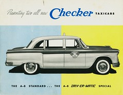 1956 Checker Taxicabs | by aldenjewell
