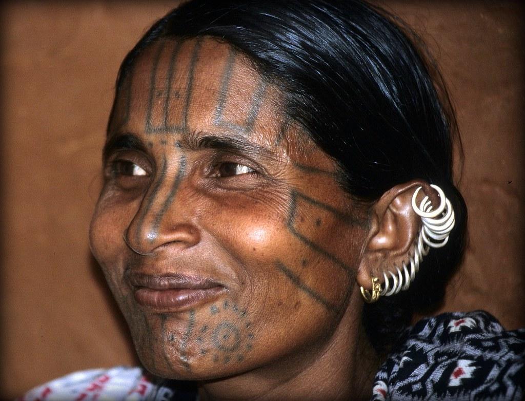 India - Orissa - marzo 2008 - etnia kutia kondh -#205# in