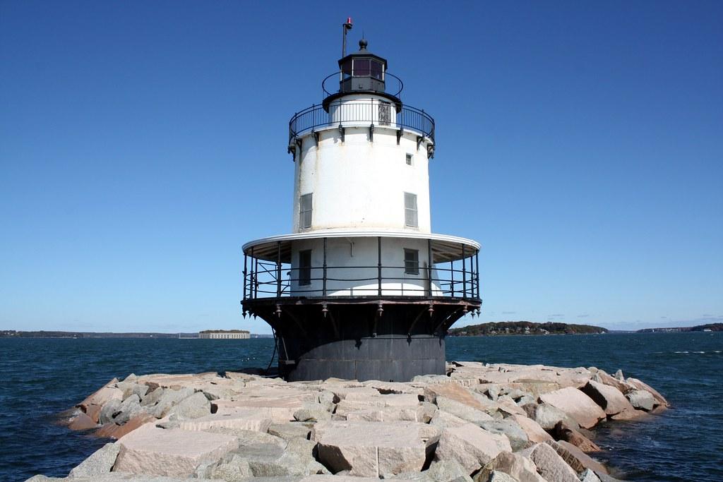 Spring Point Ledge Lighthouse | 1897 Spring Point Ledge ...