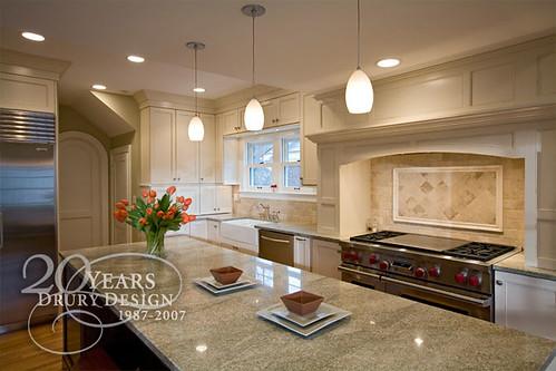 Traditional kitchen design drury design 512 n main - Drury design kitchen bath studio ...