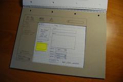 Sample screen: adding an item