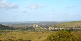 Corfe Castle from Scott Arms, Kingston | by Liz & Johnny