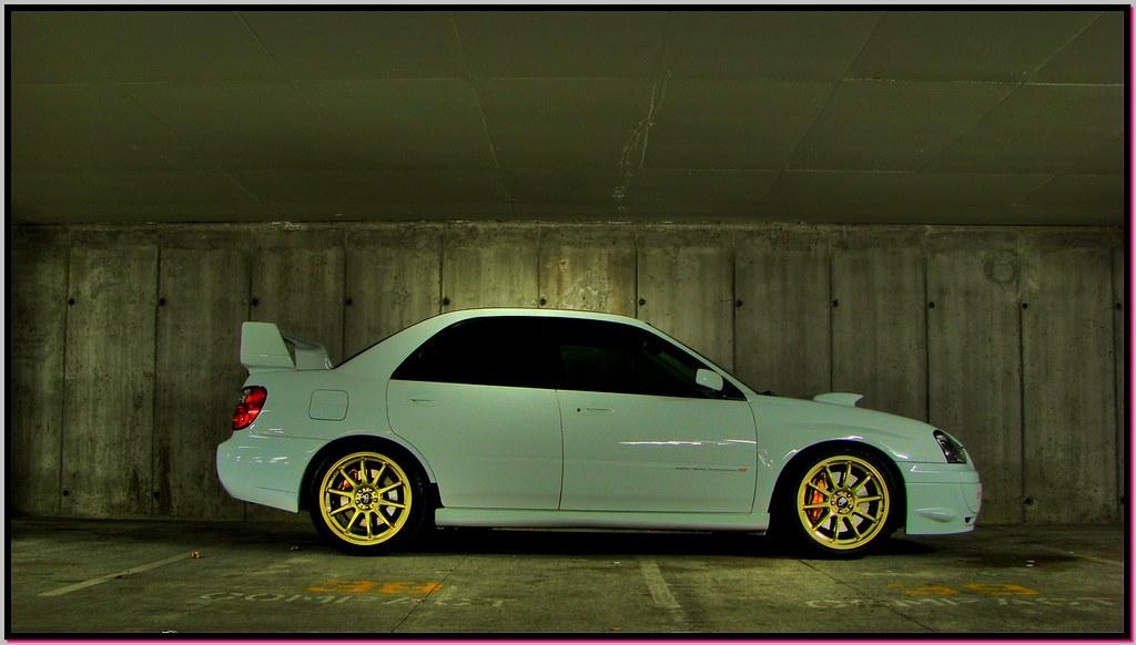 Subaru Wrx Forum >> 2005 Subaru WRX STI - alpine white - side view | Michael Ross | Flickr