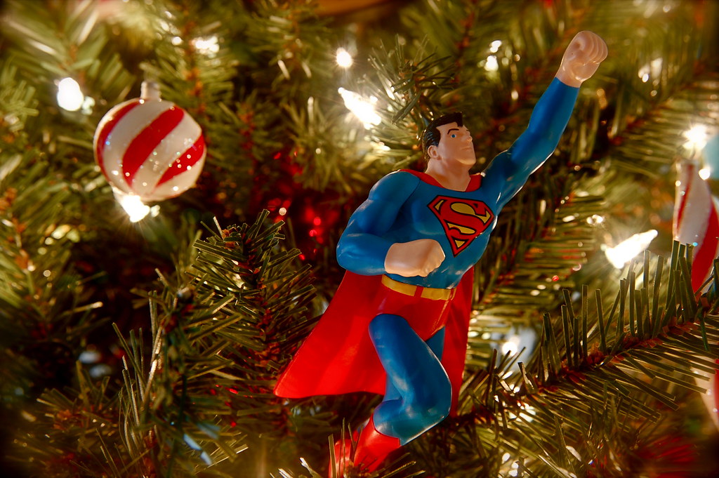1993 Superman Ornament | We purchased this ornament at a col… | Flickr