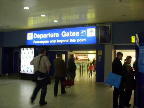 Manchester Airport Terminal 1 Entrance To Security Control