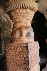 Cave 1. Ornamental Pillars (7)