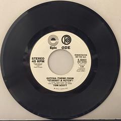 TOM SCOTT:GOTCHA(RECORD SIDE-B)