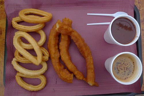 Churros, Porras, Choclate, Asiático - Cartagena, Spain