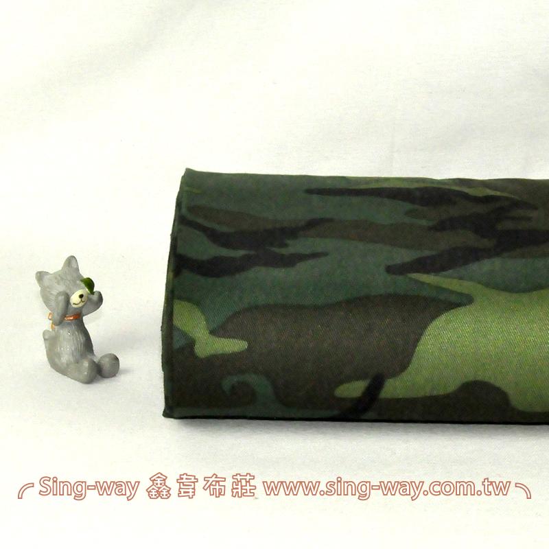 陸軍大迷彩 軍隊 手工藝DIy拼布布料 CA490351G