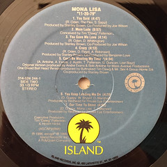 MONA LISA:11-20-79(LABEL SIDE-B)