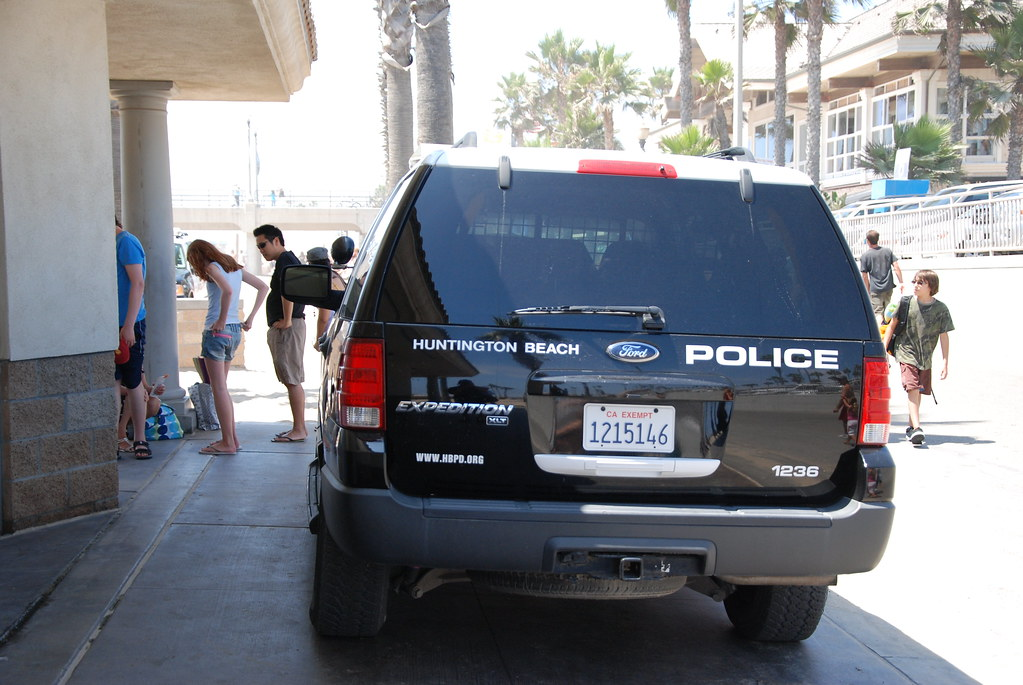 HUNTINGTON BEACH POLICE DEPARTMENT (HBPD) - FORD EXPEDITIO ...