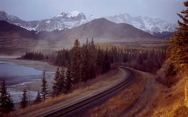 Athabasca rail brule lake canada the athabasca river for Trodel mobel