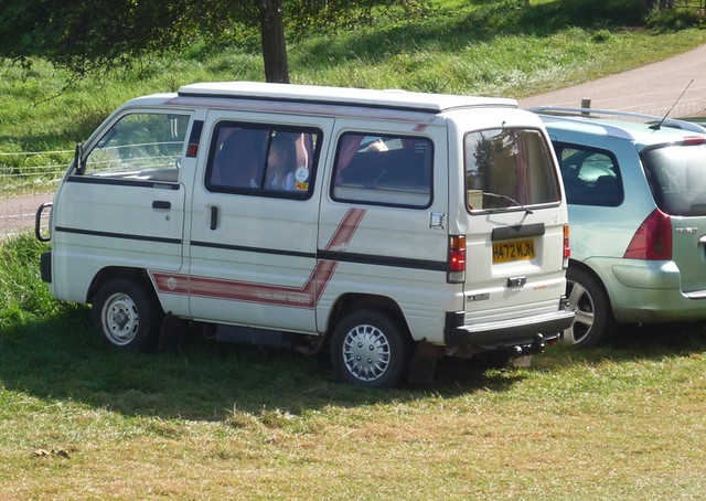 ... Suzuki Super Carry camper | by Spottedlaurel