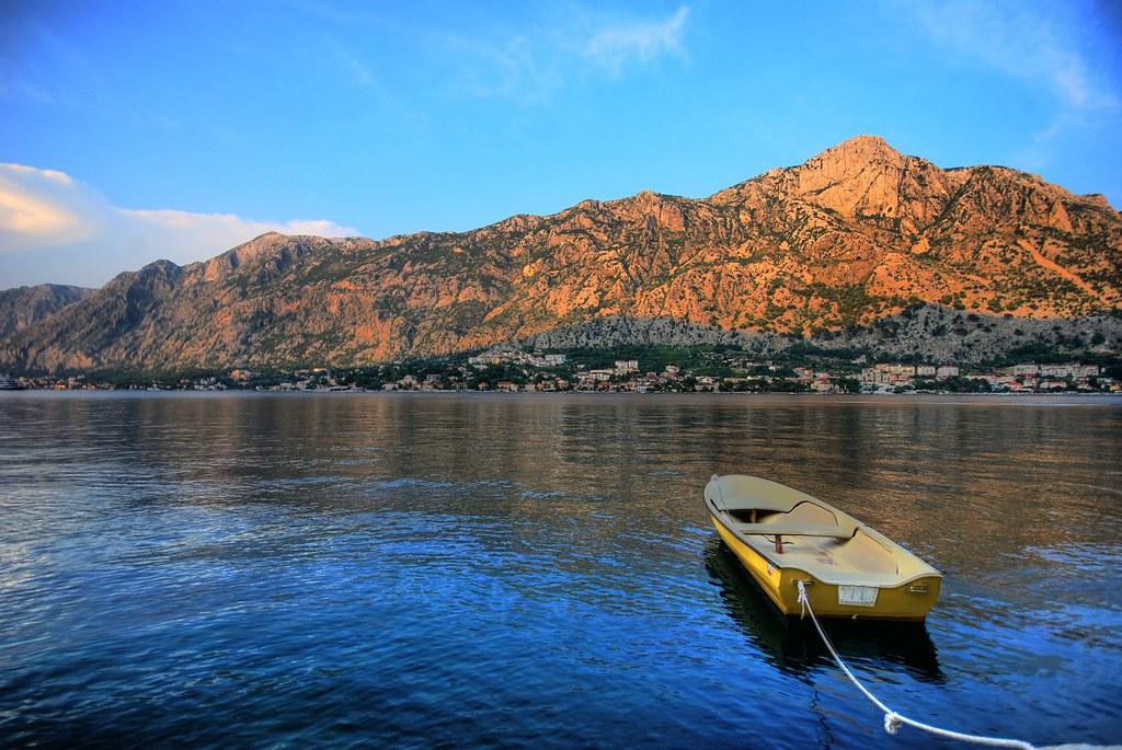 Boat in Kotor