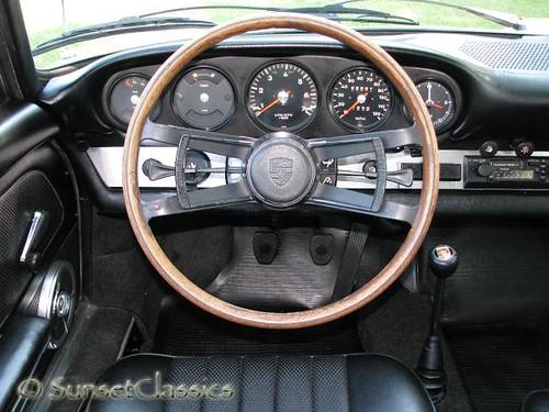 1968 Porsche 912 Interior Interior Look At The Steering