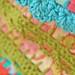 crochet trim on pillowcase...
