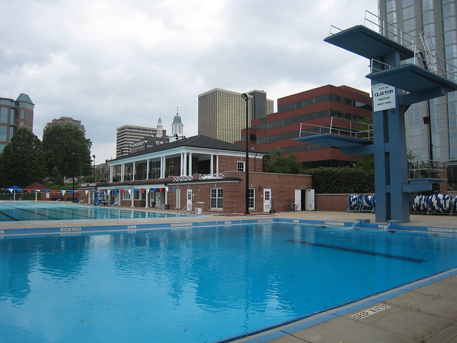 Shaw Park Pool Yes Those Are Diving Platforms And Dt Clay Flickr Photo Sharing