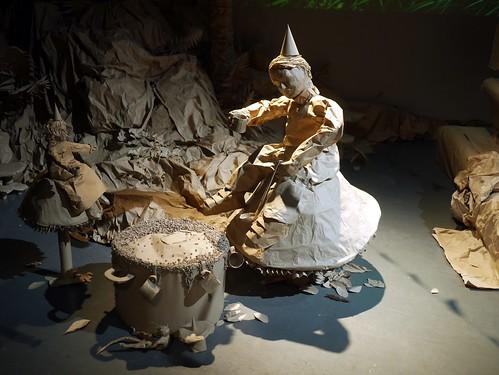 Roald Dahl - Paper Installation - 3