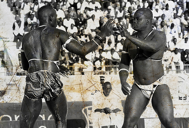 SENEGALESE WRESTLING   Motorcycle World Tour   Africa #8