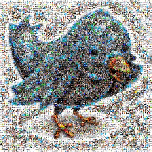 Twitter Follower Mosaic | by joelaz