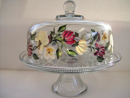 Decorative Cake Stand With Lid