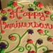 Anniversary Cake from Magnolia Bakery