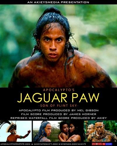 Jaguar Paw: reprised movie score | Poster design for a ...