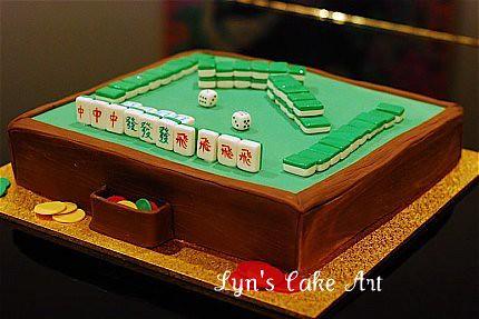 Mahjong Cake Images