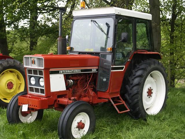 International 584 Farm Tractor