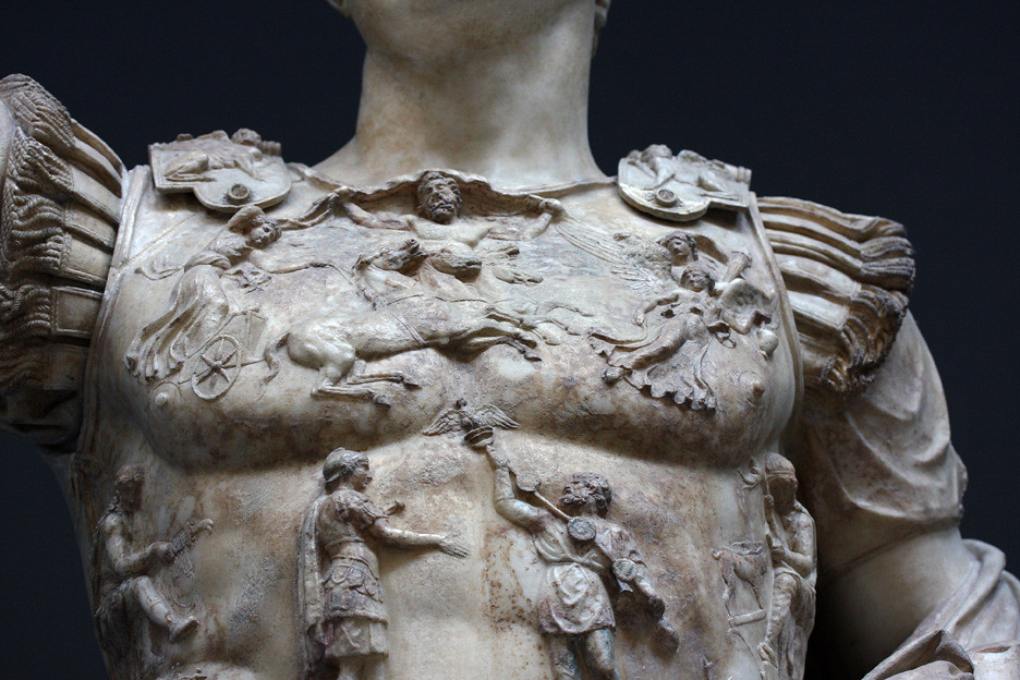 prima porta augustus breastplate