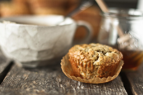 banana oat muffins | by hannah * honey & jam