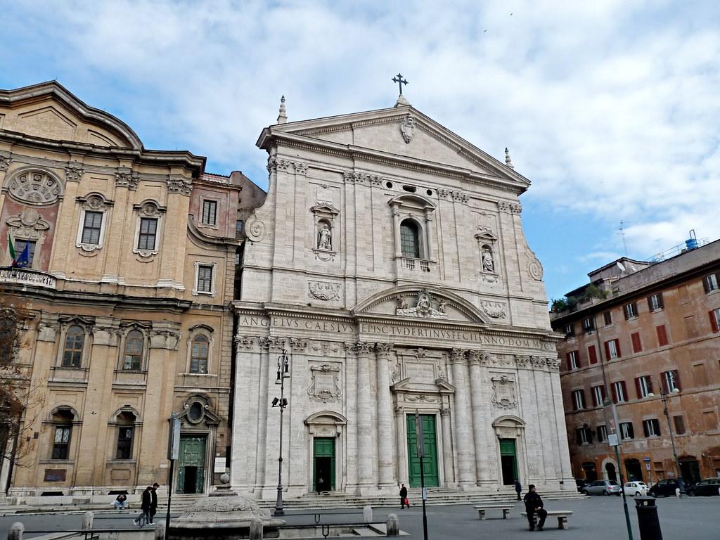 Chiesa Nuova Santa Maria In Vallicella Roma The Church Flickr