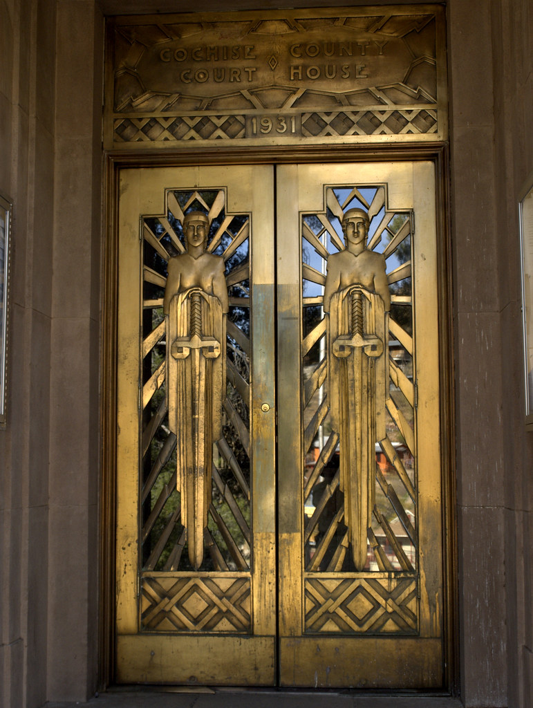 ... Copper doors Cochise County Court House | by Distraction Limited & Copper doors Cochise County Court House | We drove down to \u2026 | Flickr