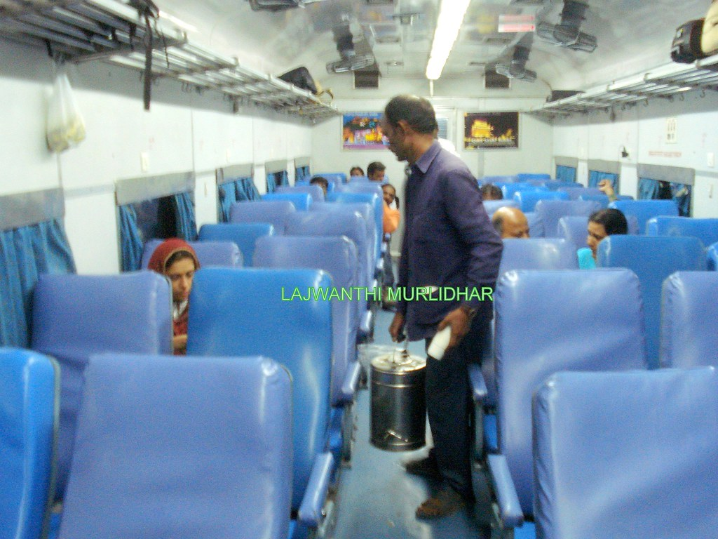 indian railways interiors of an ac chair car jitendra hassija1