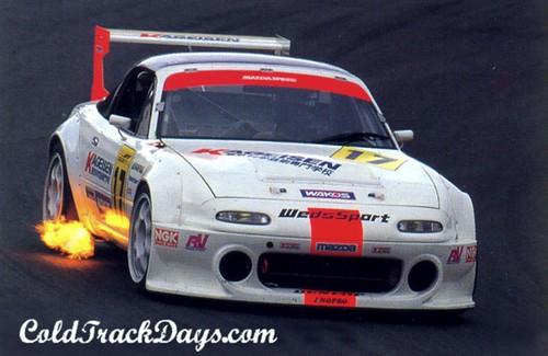 Mazda >> MIATA MONDAY // ROTARY POWERED ROADSTER: JGTC GT300 MIATA | Flickr