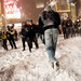 Snowball fight in Times Square, 2009