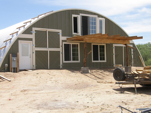 SteelMaster Quonset Style Steel Home | Q-Model Quonset ...