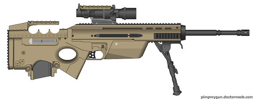 fn scar 2 0 dmr as per duke 39 s request done in pmg and pai robbe25 flickr. Black Bedroom Furniture Sets. Home Design Ideas