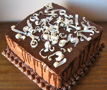 Chocolate Explosion Grooms Cake Chocolate Ganache White