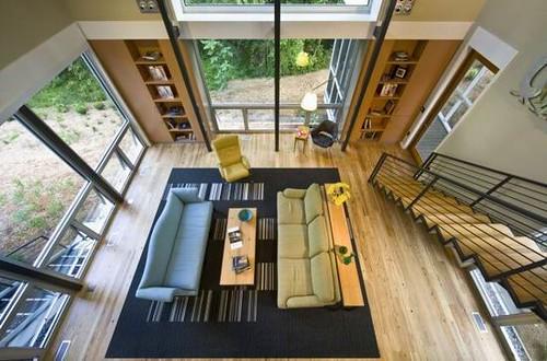 06 Modern RainShine House Design - Living room Layout | Flickr on house layout design, yin yang interior design, modern glass house design,