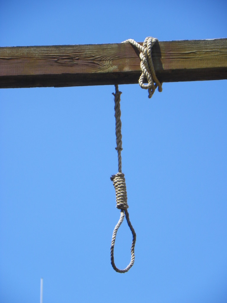 Hangman's Noose | This replica of a gallows and hangman's ...