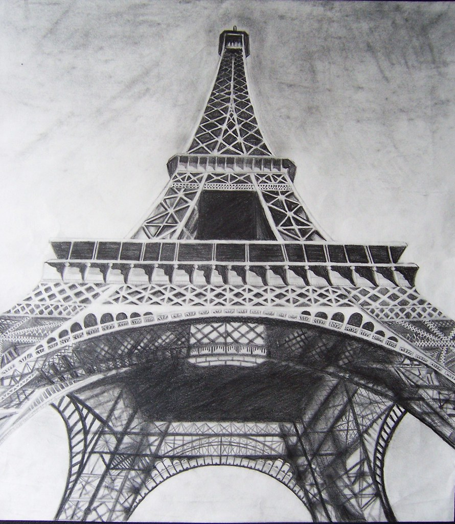 Eiffel tower drawing carly marie portraits flickr eiffel tower drawing by carly marie portraits altavistaventures Choice Image