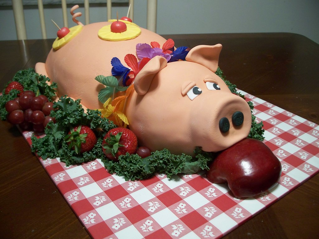 How To Make A Pig Birthday Cake