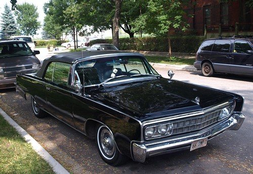 1966 Imperial Crown Convertible   Seen on a Pullman street ...